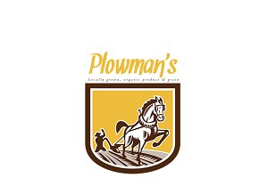 Plowman's Local Organic Produce Logo