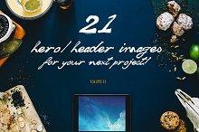 21 Hero/Header images Vol.2