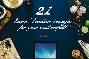 21 Hero/Header images Vol.2