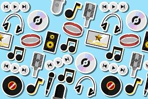 Karaoke flat collage