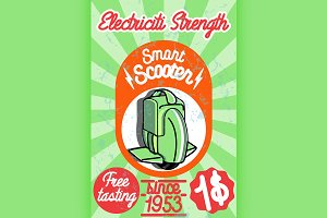 Smart scooter banner