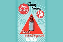 Tequila color banner