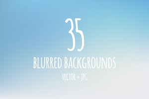 35 blurred backgrounds (Ai + JPG)