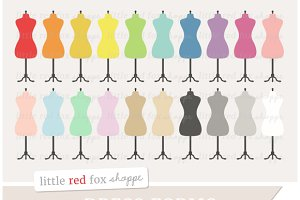 Dress Form Clipart