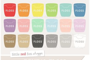 Dental Floss Clipart