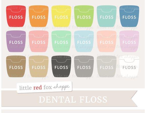 Dental Floss Clipart Illustrations Creative Market