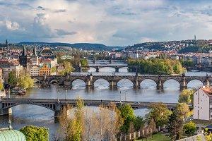 Prague, Czech Republic in sunny day.