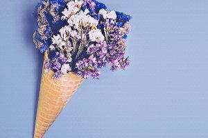 Flowers Ice cream