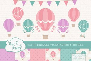 Garden Party Hot Air Balloons