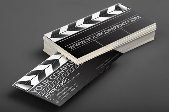 Film director business card business card templates creative market colourmoves