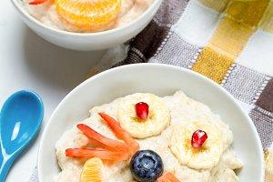 School kid breakfast