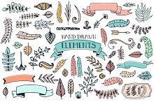 56 Doodle Decoration Elements
