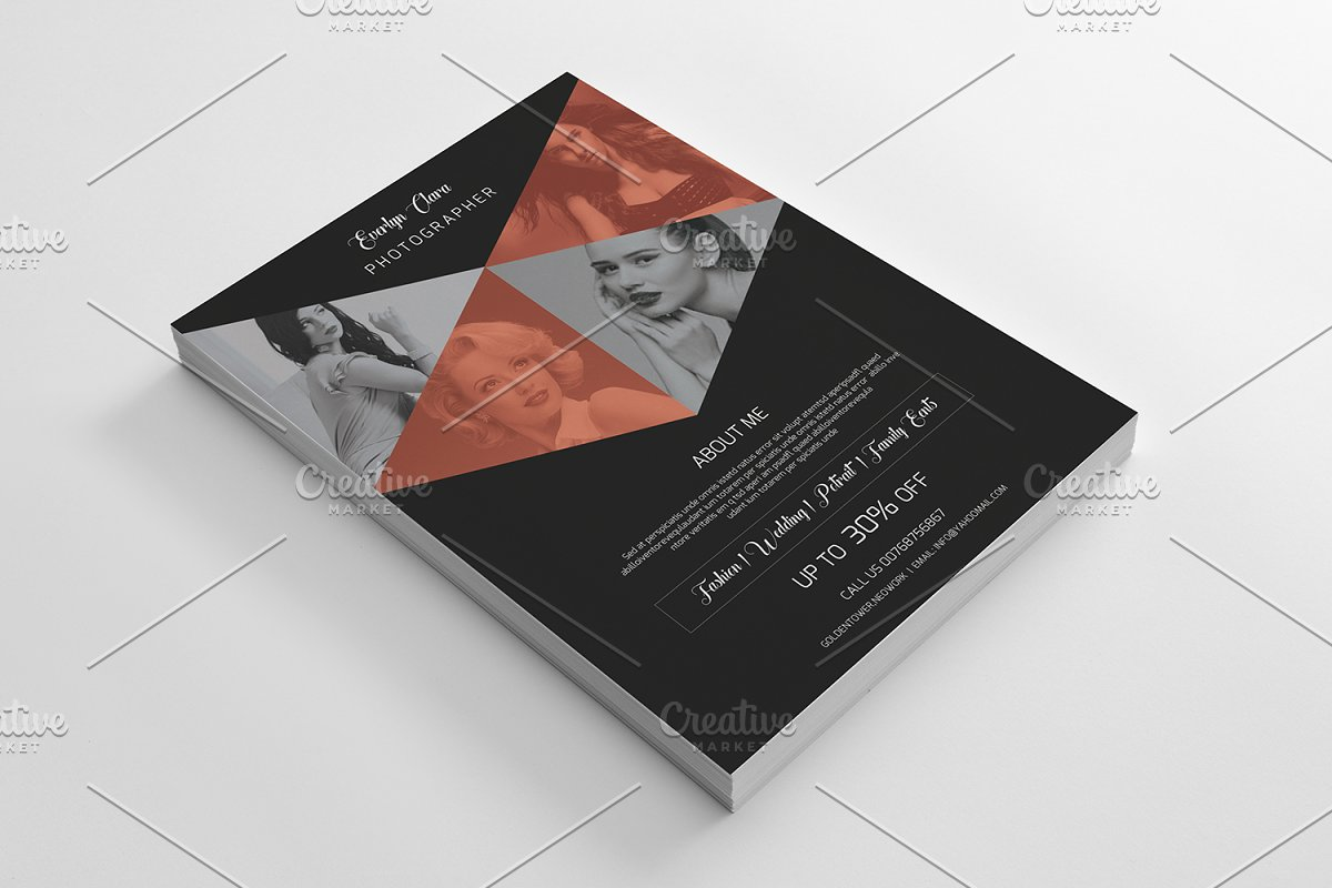 Photography Flyer Template-V364