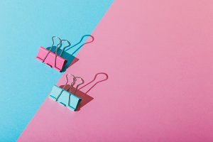 paper clips in minimalism