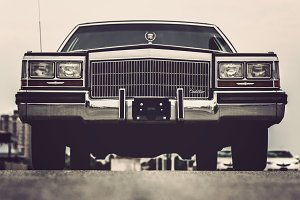 Front of Cadillac