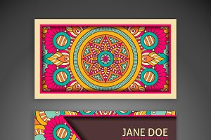 Boho Business card