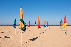 Deauville beach, France