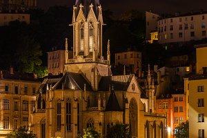 Church Saint George in Lyon, France