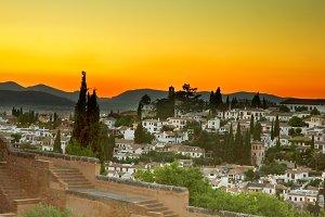 Albaycin  in Granada