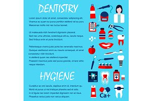 Dentistry medicine template