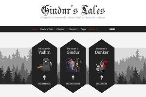 Gindur - Medieval WordPress Theme