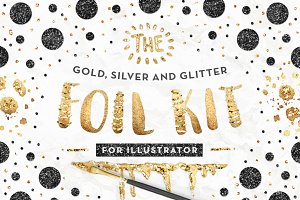 AI Gold Foil Kit Essentials + Bonus!