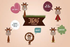 Jiraf Typeface