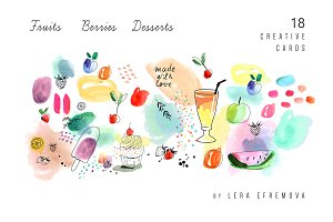 Fruits & Berries & Desserts