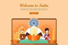 India Travel Banner