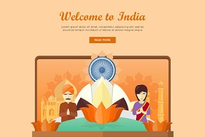 India Travel Banner