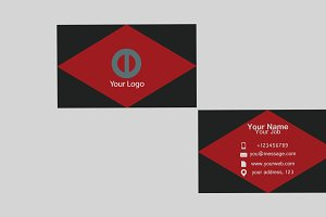 Sdcrtrgphtbc Business Card Template