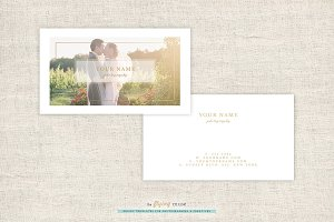 Photography Business Cards Template