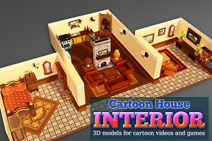 Cartoon House Interior