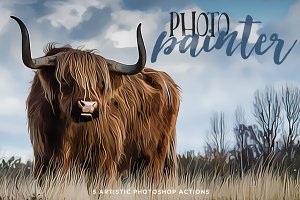 Photo Painter Photoshop Actions 1