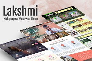 Lakshmi - Multipurpose WP Theme