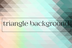 Geometric triangle backgrounds