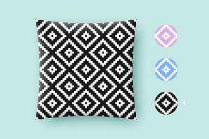 Seamless modern graphic pattern