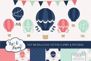Modern Chic Hot Air Balloons