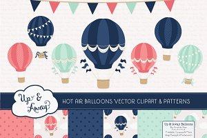 Modern Chic Hot Air Balloons