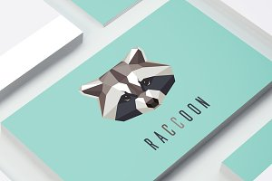 Raccoon logo mark