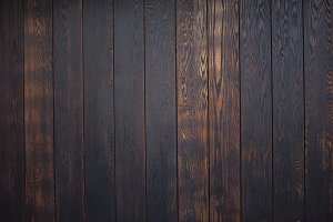 Black wood texture background
