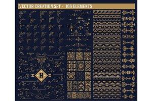 166 elements set.