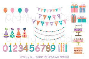 Children Birthday Clipart