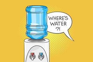 Where's water?