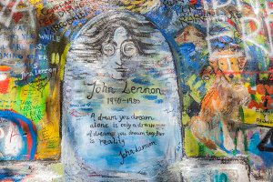 John Lennon Wall, Prague.