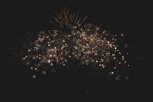Fireworks in night sky 49