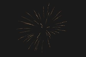 Fireworks in night sky 45