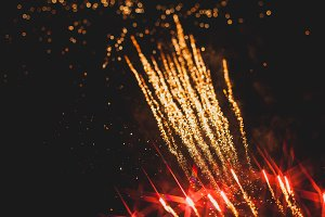 Fireworks in night sky 40