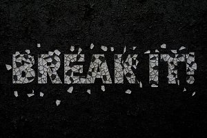 Break It! Photoshop Script