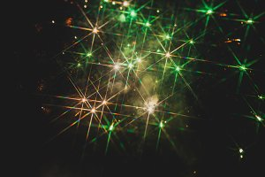 Fireworks in night sky 18